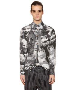 Vivienne Westwood   Рубашка Из Вискозы С Принтом