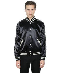 Calvin Klein Collection | Куртка-Бомбер Из Техно-Атласа