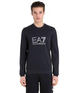 EA7 EMPORIO ARMANI | Хлопковый Свитшот С Логотипом