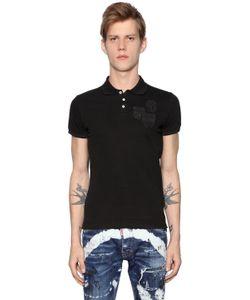 Dsquared2 | Рубашка-Поло Из Хлопка Пикé