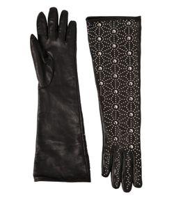 Dsquared2   Перчатки Из Кожи Наппа С Заклёпками