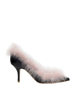 MALONE SOULIERS | Туфли Emmanuelle Из Кожи Наппа И Овечьего Меха