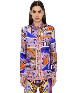 Emilio Pucci | Printed Maya Silk Twill Shirt