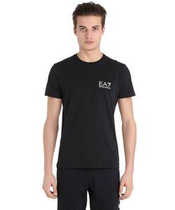 EA7 EMPORIO ARMANI | Хлопковая Футболка С Логотипом