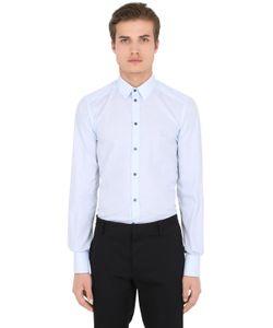 Dolce & Gabbana | Рубашка Из Хлопковой Ткани Fil-A-Fil