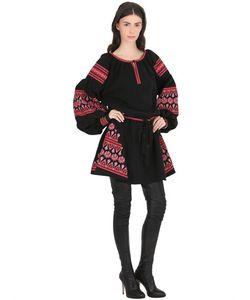 CC BY CAMILLA CAPPELLI | Платье Из Крепа С Вышивкой