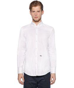 Dsquared2 | Рубашка Из Хлопка Оксфорд