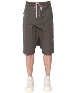 Rick Owens | Drkshdw Memphis Paneled Canvas Shorts