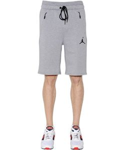 Nike | Air Jordan Cotton Blend Sweat Shorts