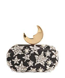 Benedetta Bruzziches | Шёлковый Клатч Smiling Moon С Вышивкой
