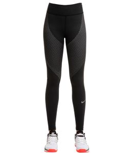 Nike | Легинсы Для Бега Из Стретч Нейлона