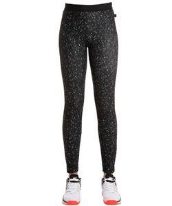 Nike | Легинсы Из Стретч Нейлона С Принтом
