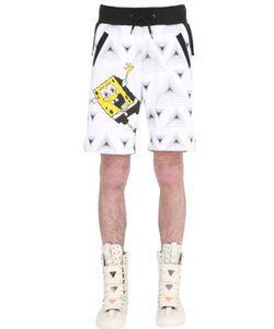 PATRICK LOVES SPONGEBOB BY PM | Спортивные Шорты Happy Spongebob Из Хлопка