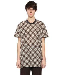 Lanvin | Хлопковая Рубашка В Клетку