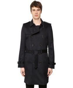 Burberry   Kensington Cashmere Cloth Trench Coat