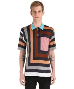 Marco De Vincenzo | Graphic Knit Polo Shirt