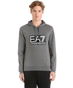 EA7   Хлопковый Свитшот Train С Логотипом