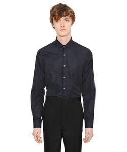 Lanvin | Рубашка Из Хлопкового Поплин