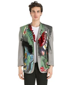 PATRICIA FIELD ART FASHION   Scooter Laforge Hand-Painted Blazer