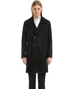Neil Barrett | Двубортное Шерстяное Пальто