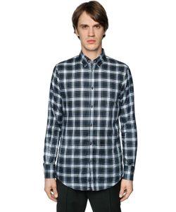Dsquared2 | Хлопковая Рубашка В Клетку