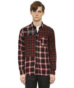 Lanvin | Рубашка Из Хлопковой Фланели В Клетку
