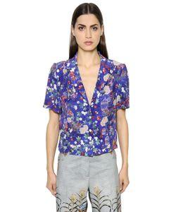Stella Jean | Блуза Из Шёлкового Крепдешина