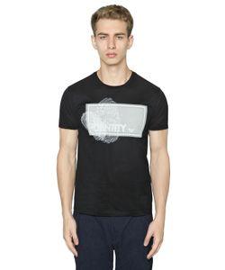 Emporio Armani | Identity Printed Cotton Jersey T-Shirt