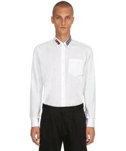 6e62ee9c3dd Givenchy - Cotton Shirt W Logo Patch Details