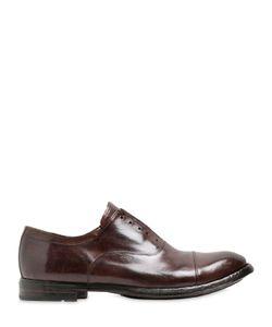 Officine Creative | Кожаные Ботинки-Оксфорд Без Шнуровки