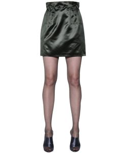 Nina Ricci | High Waisted Silk Duchesse Skirt