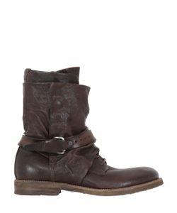 A.S.98 | Кожаные Ботинки С Пряжками