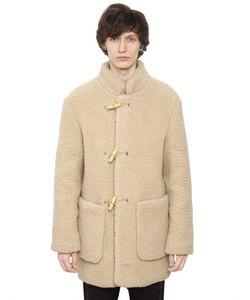 Christophe Lemaire | Полушерстяное Пальто С Эффектом Овчины