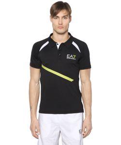 EA7 EMPORIO ARMANI | Рубашка-Поло Для Тенниса Ventus Из Нейлона