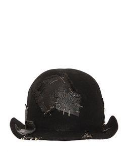 Move | Шляпа Vagabond Из Вощёного Шерстяного Фетра