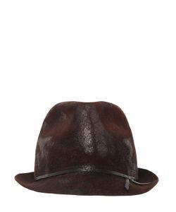 Move | Шляпа Из Вощёного Кроличьего Фетра
