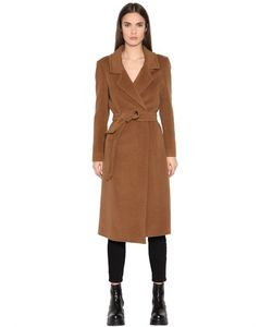 TAGLIATORE 0205 | Long Alpaca Wool Cloth Coat