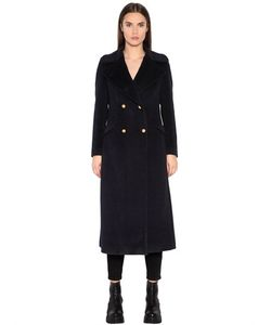 TAGLIATORE 0205 | Double Breasted Alpaca Wool Cloth Coat