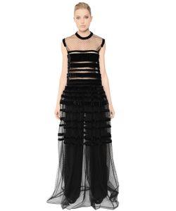 Veronique Branquinho | Платье Из Тюля В Горошек