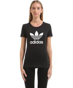 adidas Originals | Футболка Trefoil Из Хлопкового Джерси С Принтом