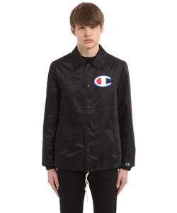 Champion   Куртка-Рубашка Из Нейлона С Логотипом
