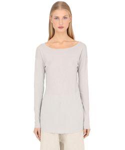 Transit Par-Such   Cotton Jersey Long Sleeve T-Shirt