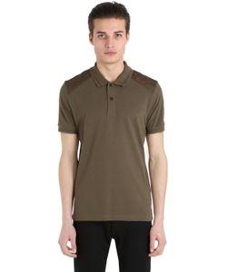 Belstaff | Рубашка-Поло Из Хлопка Пикè