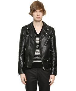 Alexander McQueen | Кожаная Куртка В Байкерском Стиле