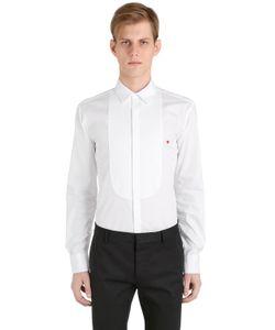 Neil Barrett | Рубашка Из Поплин С Пластрон
