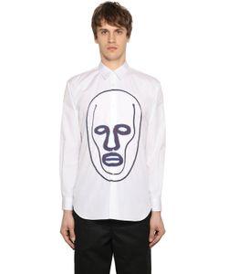 Comme Des Garcons | Рубашка Из Поплин С Нашивками