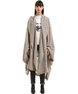 Vivienne Westwood | Полушерстяное Пальто С Драпировкой