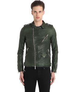 Giorgio Brato | Куртка В Байкерском Стиле Из Кожи Наппа