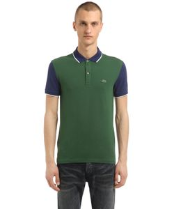 Lacoste | Рубашка-Поло Из Стретч Хлопка-Пикé