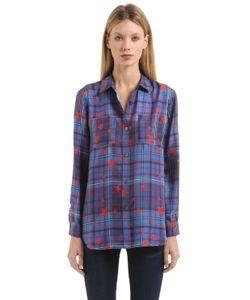 Tommy Hilfiger | Рубашка Gigi Hadid Из Шёлковой Саржи